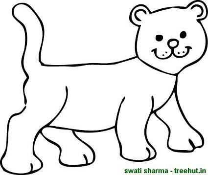 Lion Cub Drawing Easy at GetDrawingscom Free for personal use