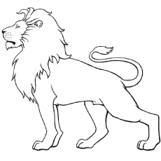 230x230 Coloring Pages Lion Printable To Funny Print Paint Printable