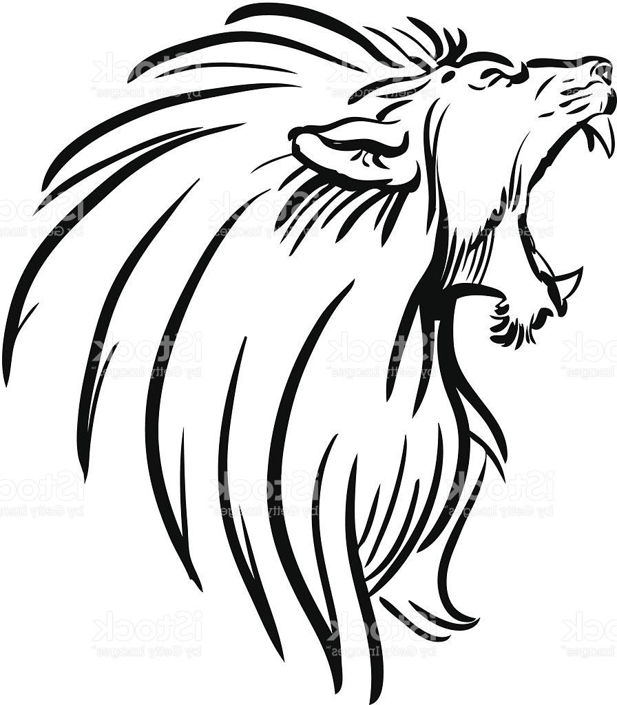 896x1024 Hd Lion Vector Library