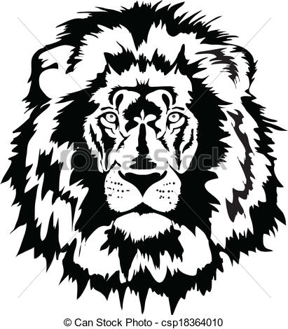 411x470 Lion Head Clipart Black And White