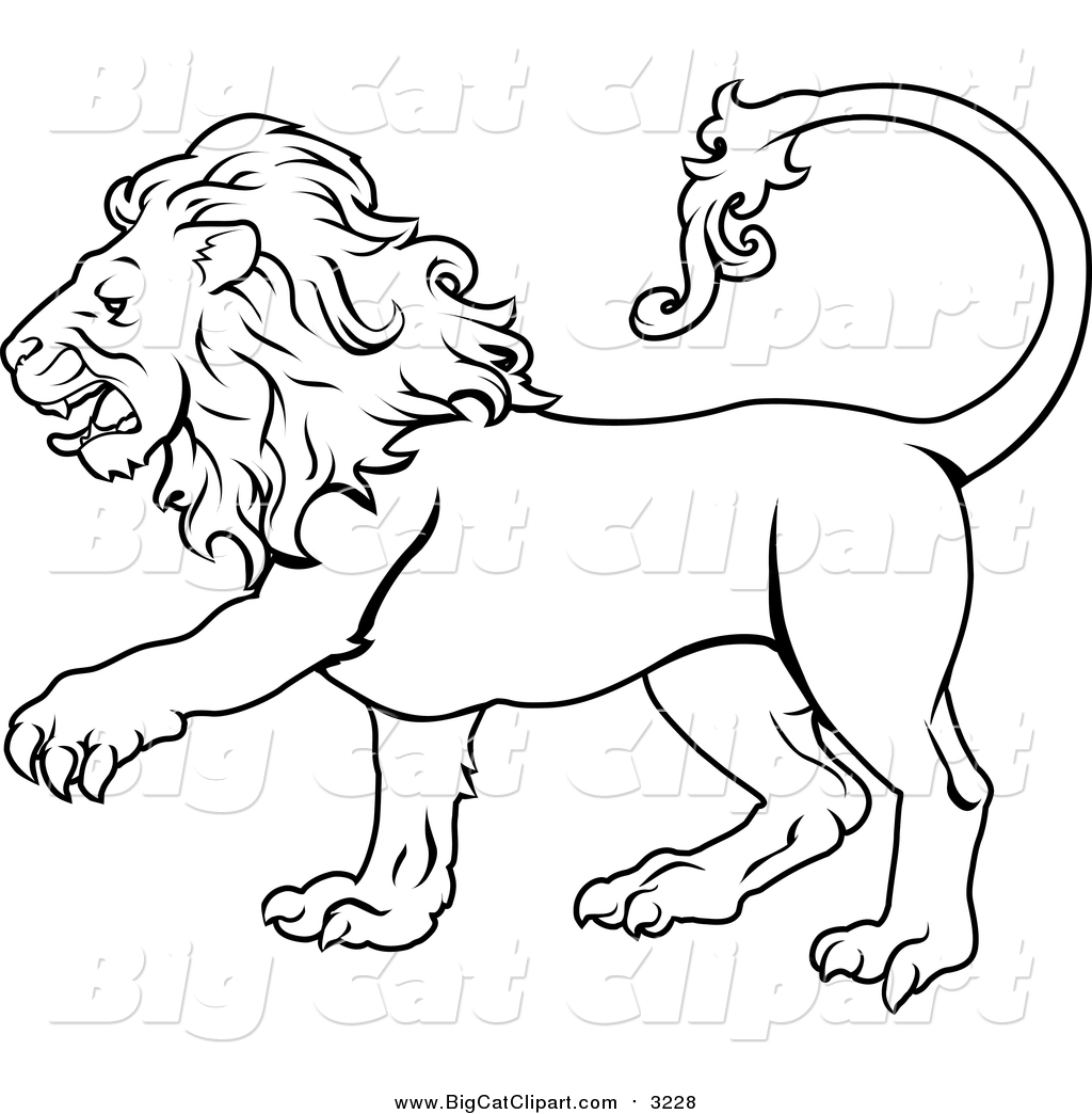 1024x1044 Royalty Free Black And White Stock Big Cat Designs