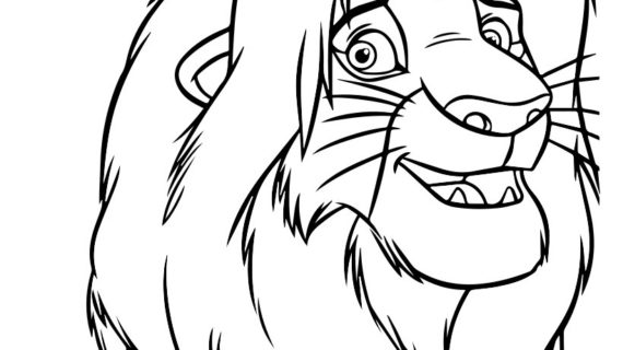 570x320 Simba Lion King Drawing How To Draw Simba From The Lion King, Step