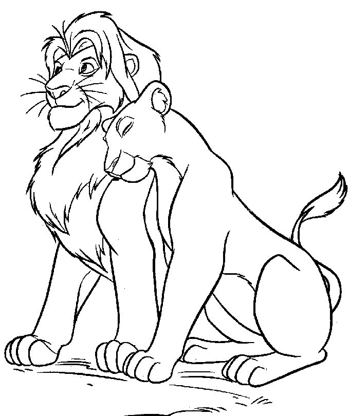 Lion Drawing Color at GetDrawingscom Free for personal use Lion