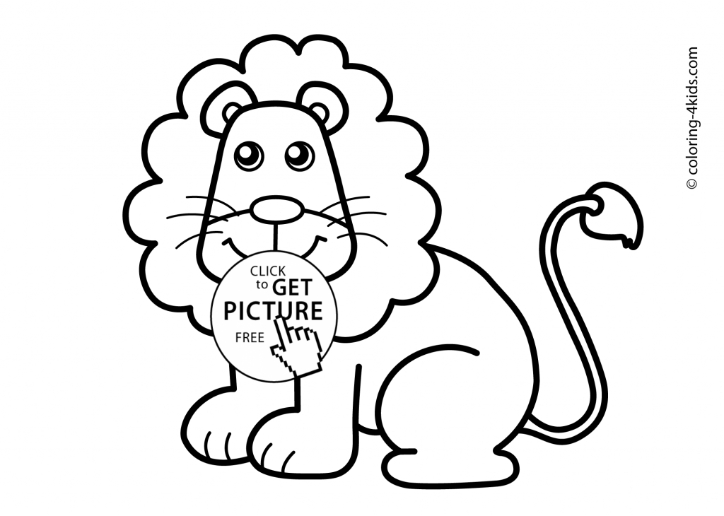 Lion Drawing Easy At Getdrawings Com Free For Personal Use Lion