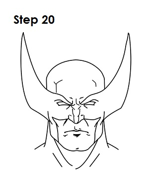 300x388 How To Draw Wolverine