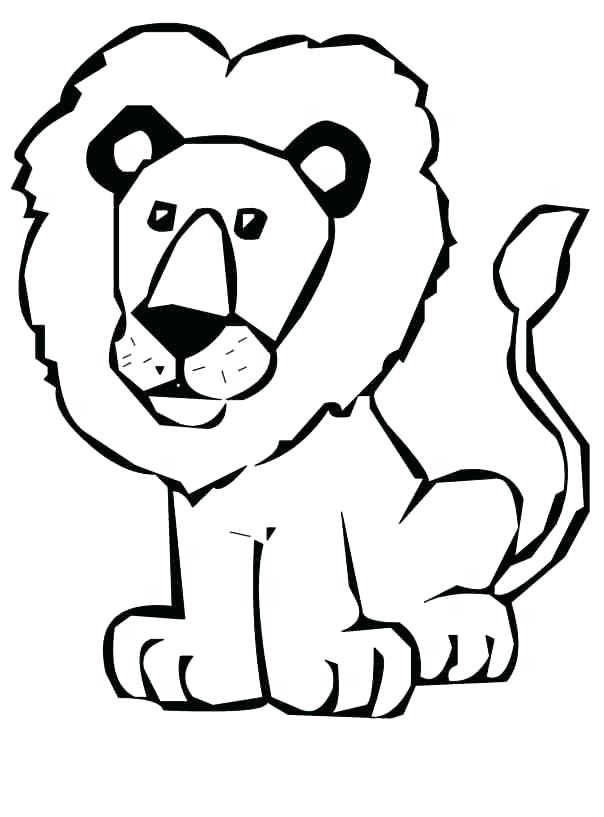 604x817 Lion Drawing Outline Pin White Lion Lion Outline 2 Lion Face