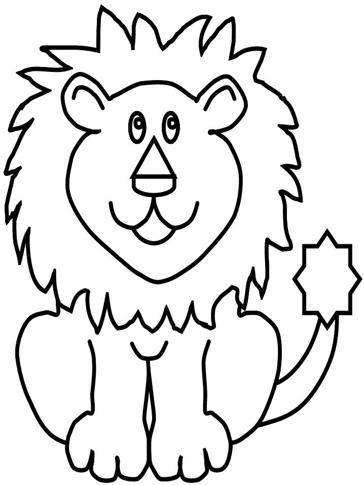 718x957 Extraordinary Inspiration Lion Animal Coloring Pages Lion Real