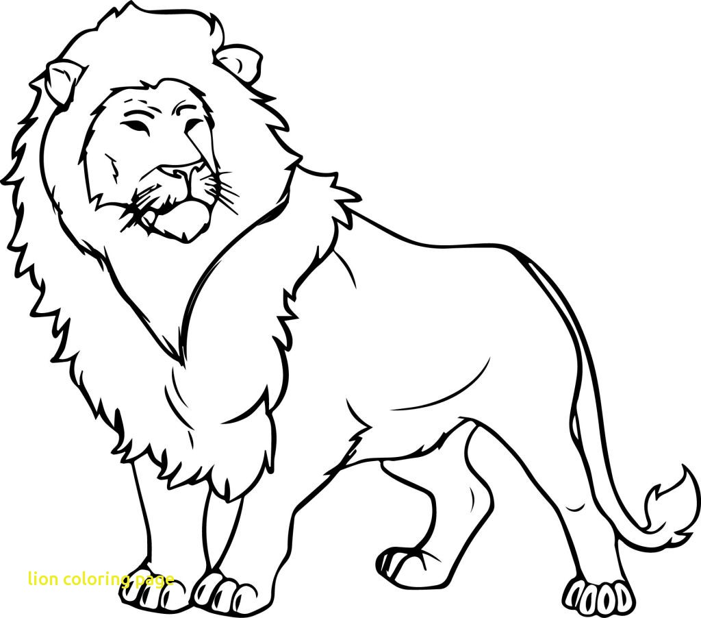 Lion Drawing For Kids at GetDrawings.com | Free for personal use ...