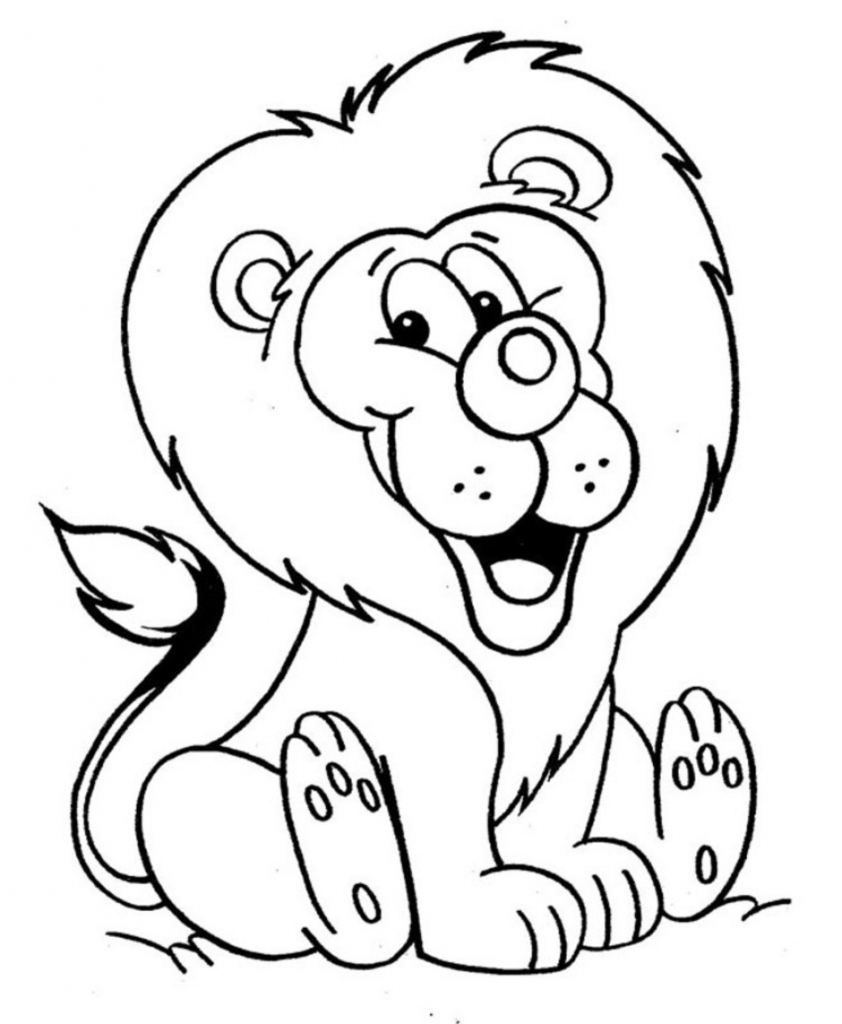 842x1024 Lion Drawing For Kids Lion How To Draw A Lion Easy Step Step