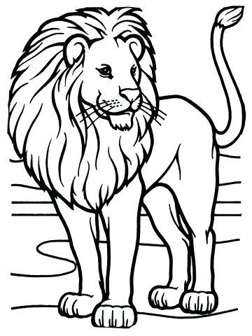 360x480 Lion Guard Beshte Coloring Pages Best Ideas On Free Animal Kids