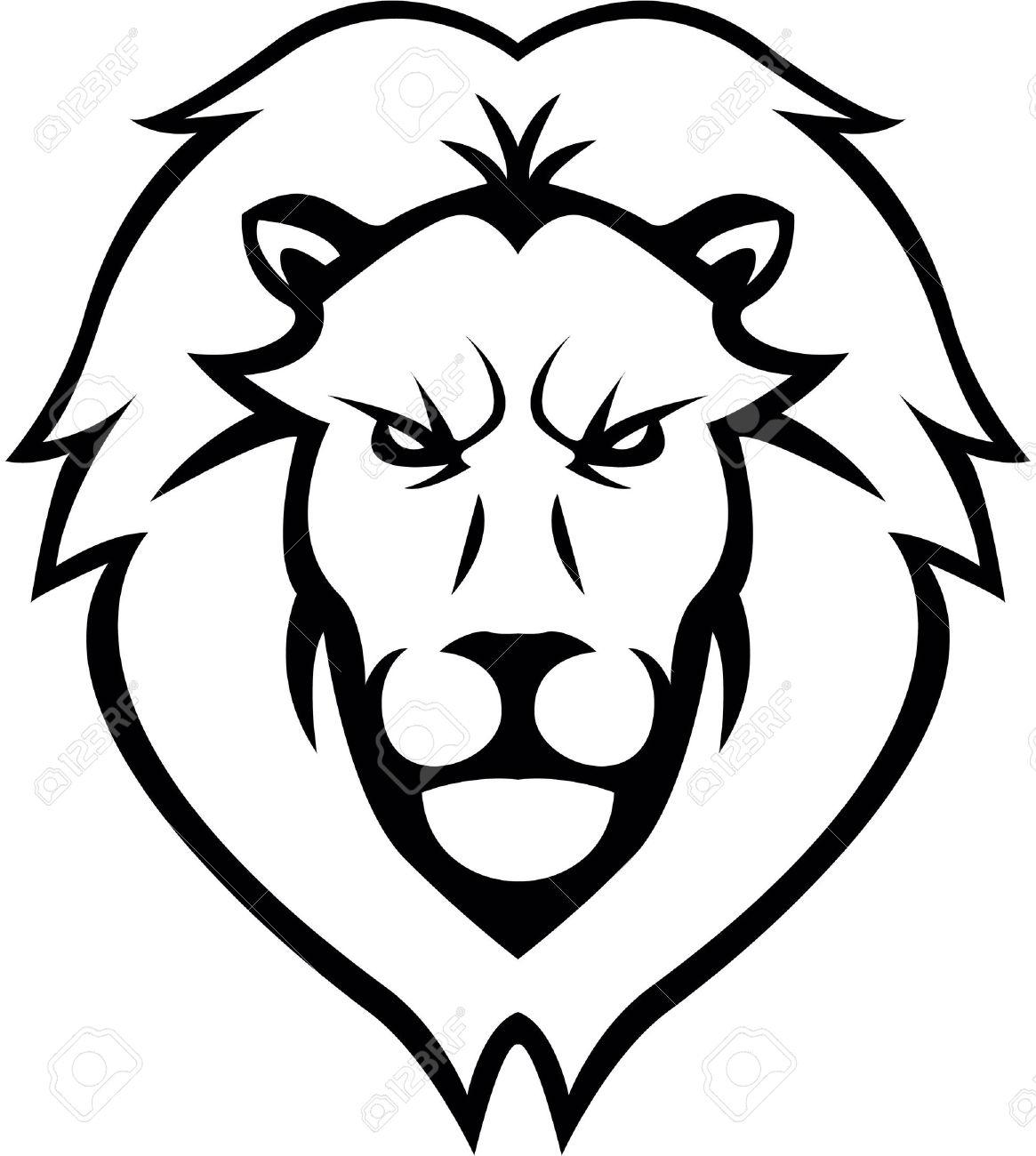 1165x1300 Drawing A Lion Head Lion Head Clipart Lion Head Clip Art Images