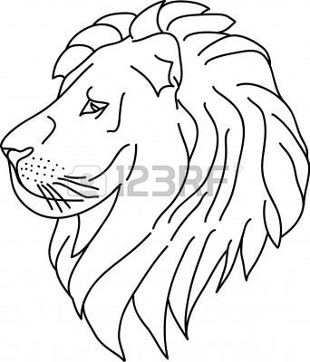 342x400 Gp Moto Clip Art Lion Head