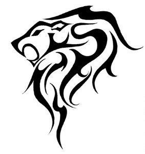 283x300 Lion Head By Legendene