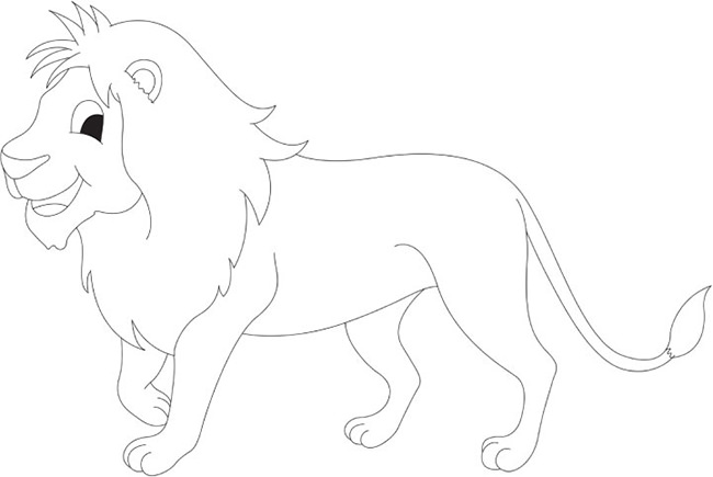 650x435 Lion Template