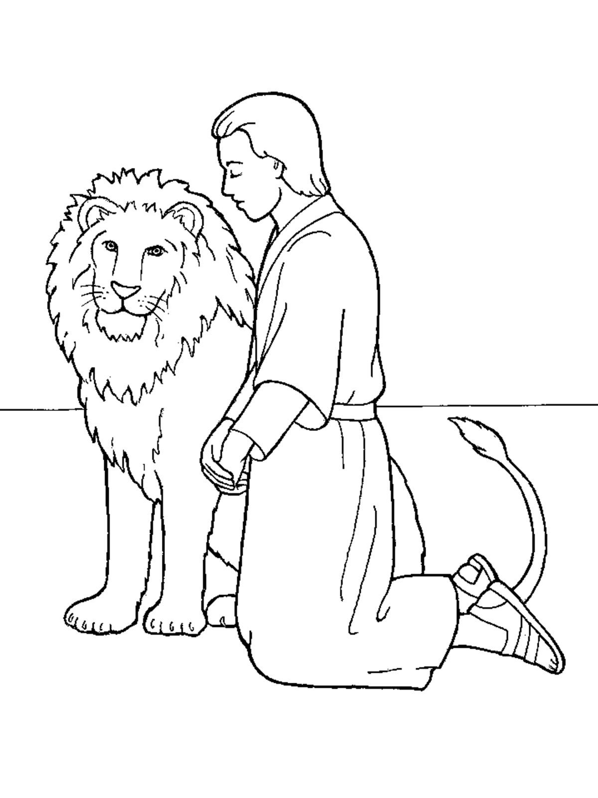 1200x1600 Daniel In The Lions' Den