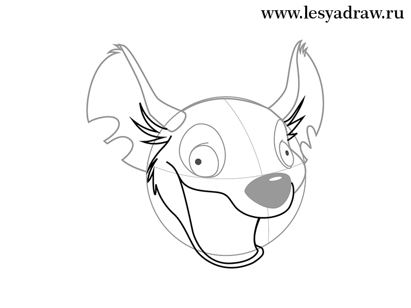 800x600 How To Draw A Hyena From The Lion King