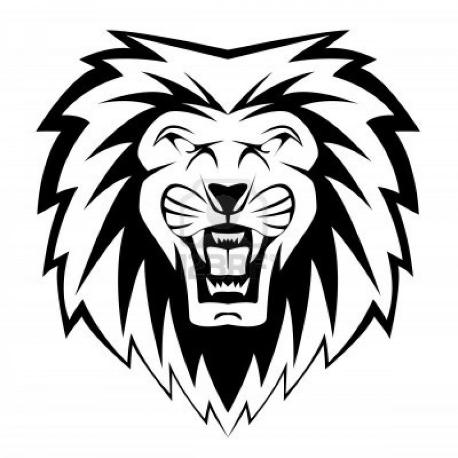 900x900 Simple Lion Face Drawing How To Draw A Face Of A Lion Solution