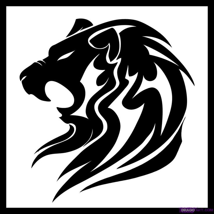 736x736 Download Lion Tattoo Easy