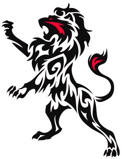 400x521 15 Awesome Lion Tattoos