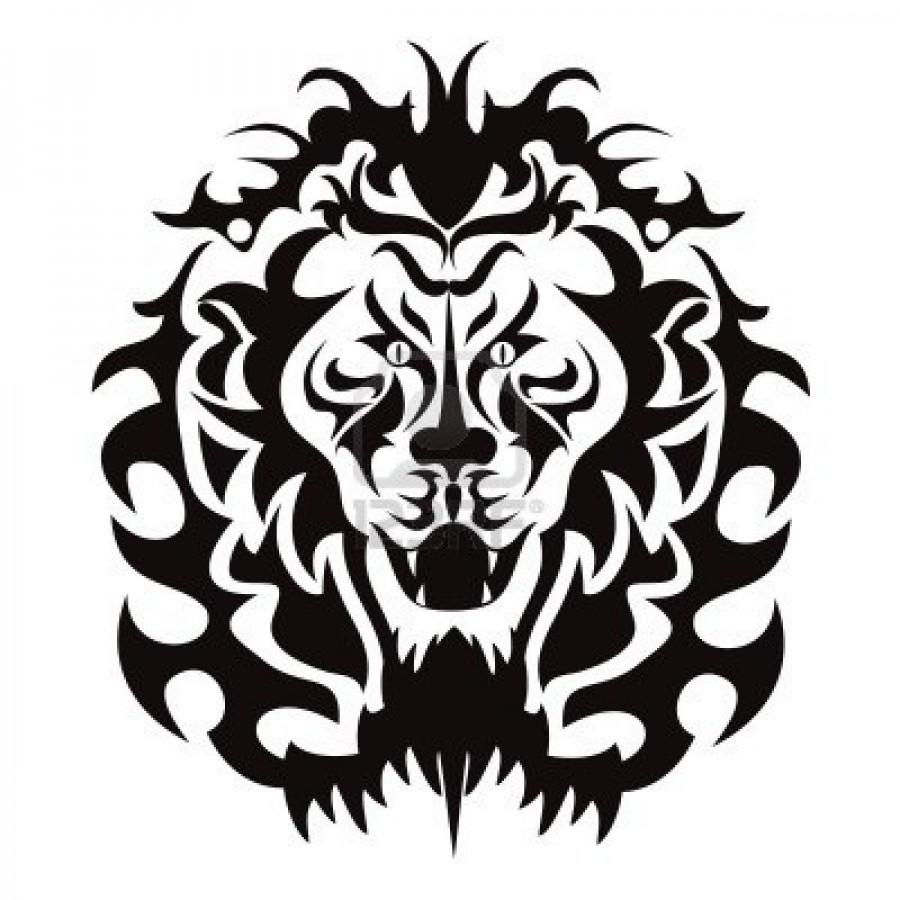 900x900 Tattoo Roaring Lion Clipart Panda