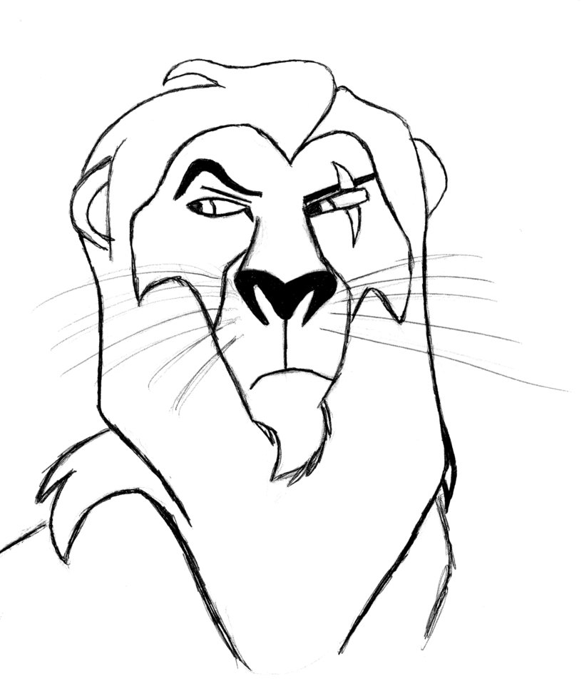 819x976 Scar From The Lion King By Grindzewall