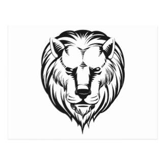 324x324 Lion Sketch Postcards Zazzle