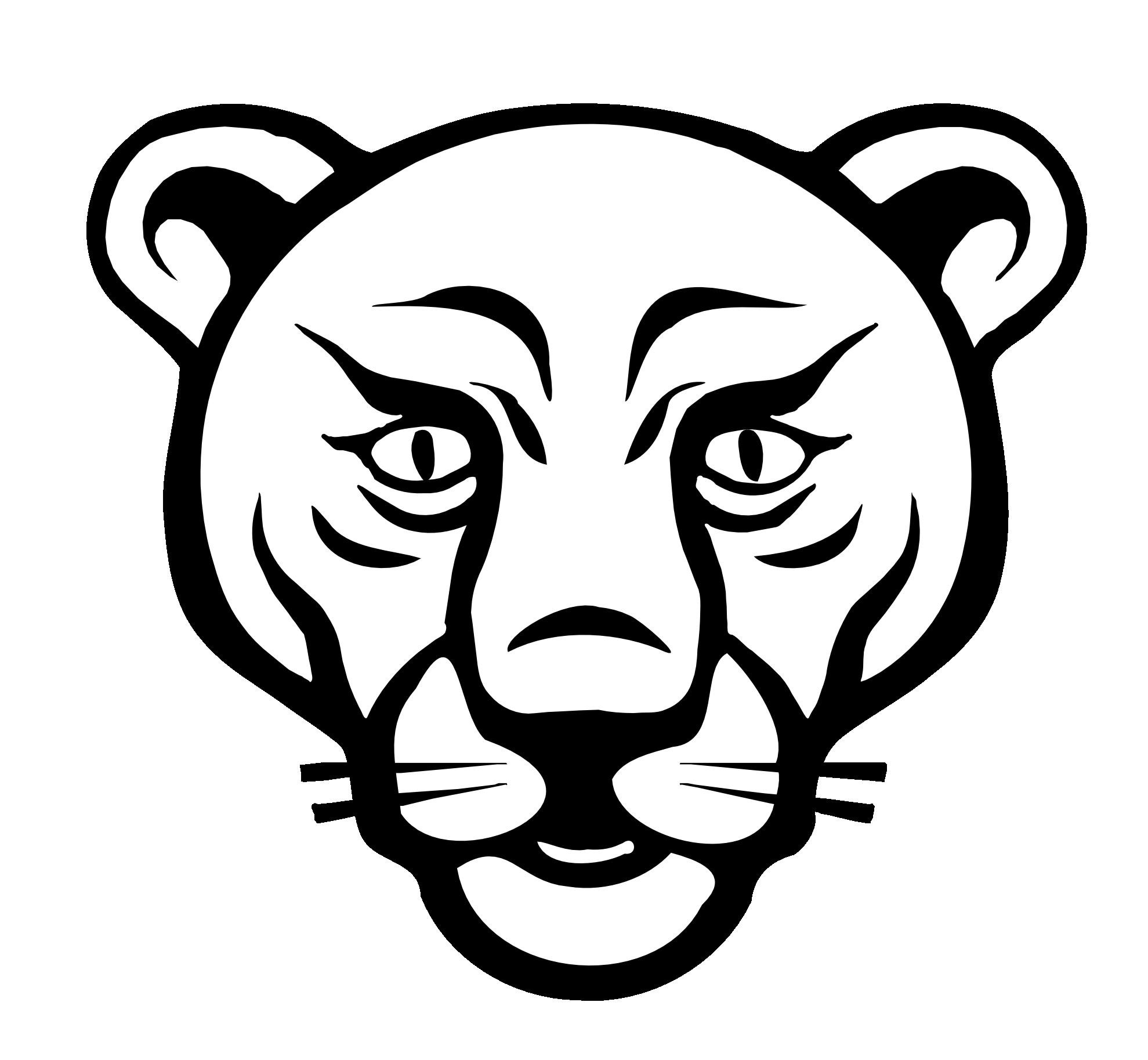 1979x1827 Drawn Lion Face Outline