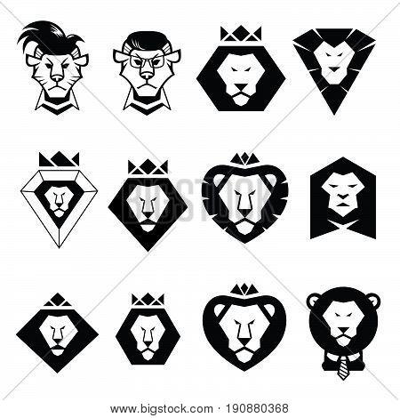 450x470 Lion Head Logo Vector, Lion King Vector Amp Photo Bigstock