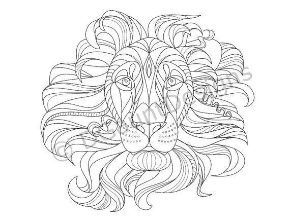 570x440 38 Best Lion Calavera Images On Coloring Books