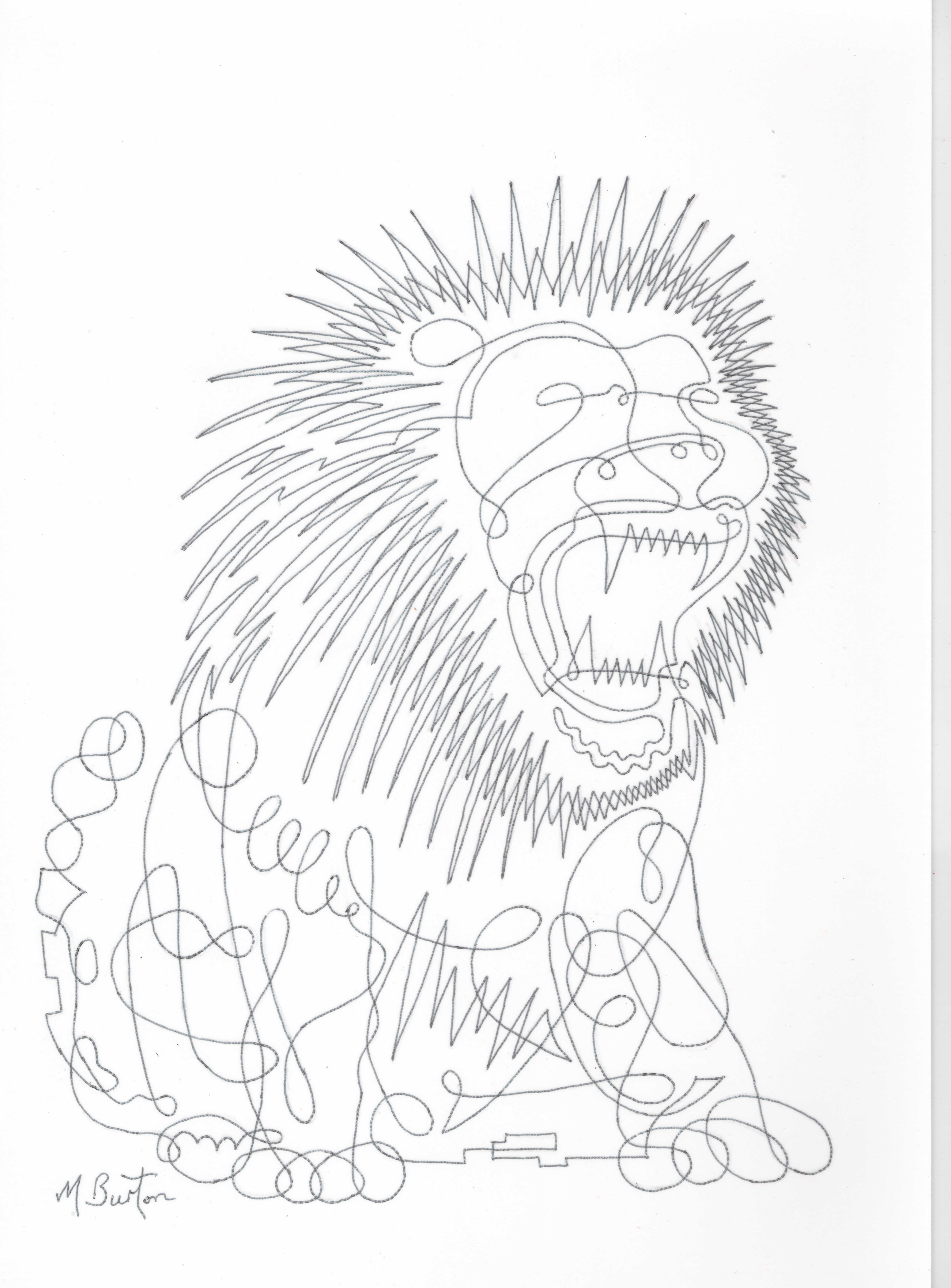 5032x6818 Animals In My Art How I Started. Mick Burton