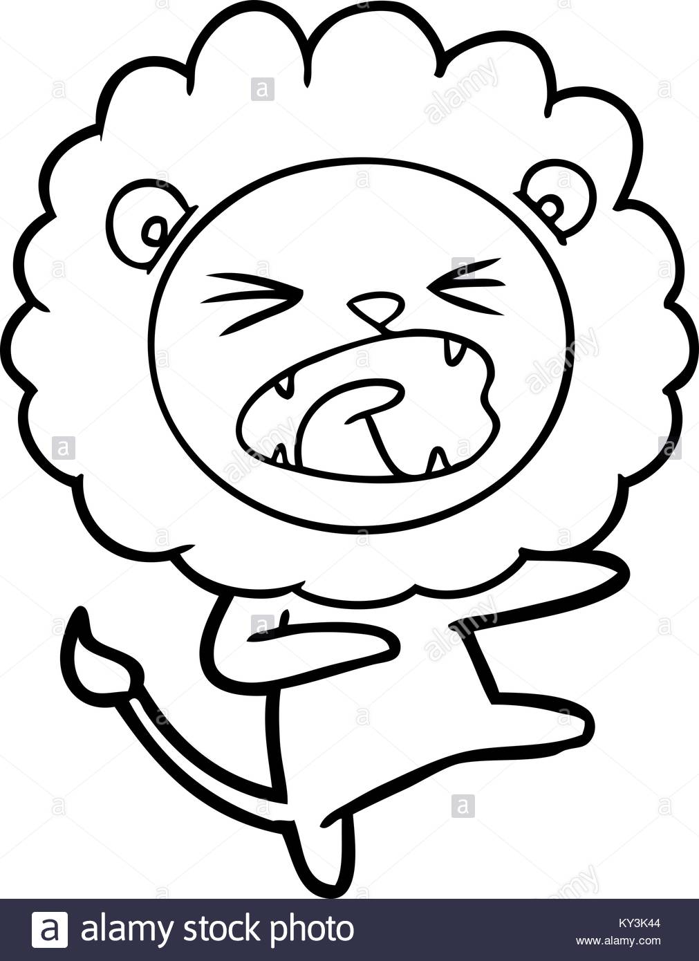 1011x1390 Angry Lion Drawing Stock Photos Amp Angry Lion Drawing Stock Images