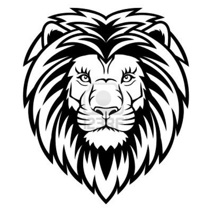 736x736 Pictures Simple Lion Face Drawing,