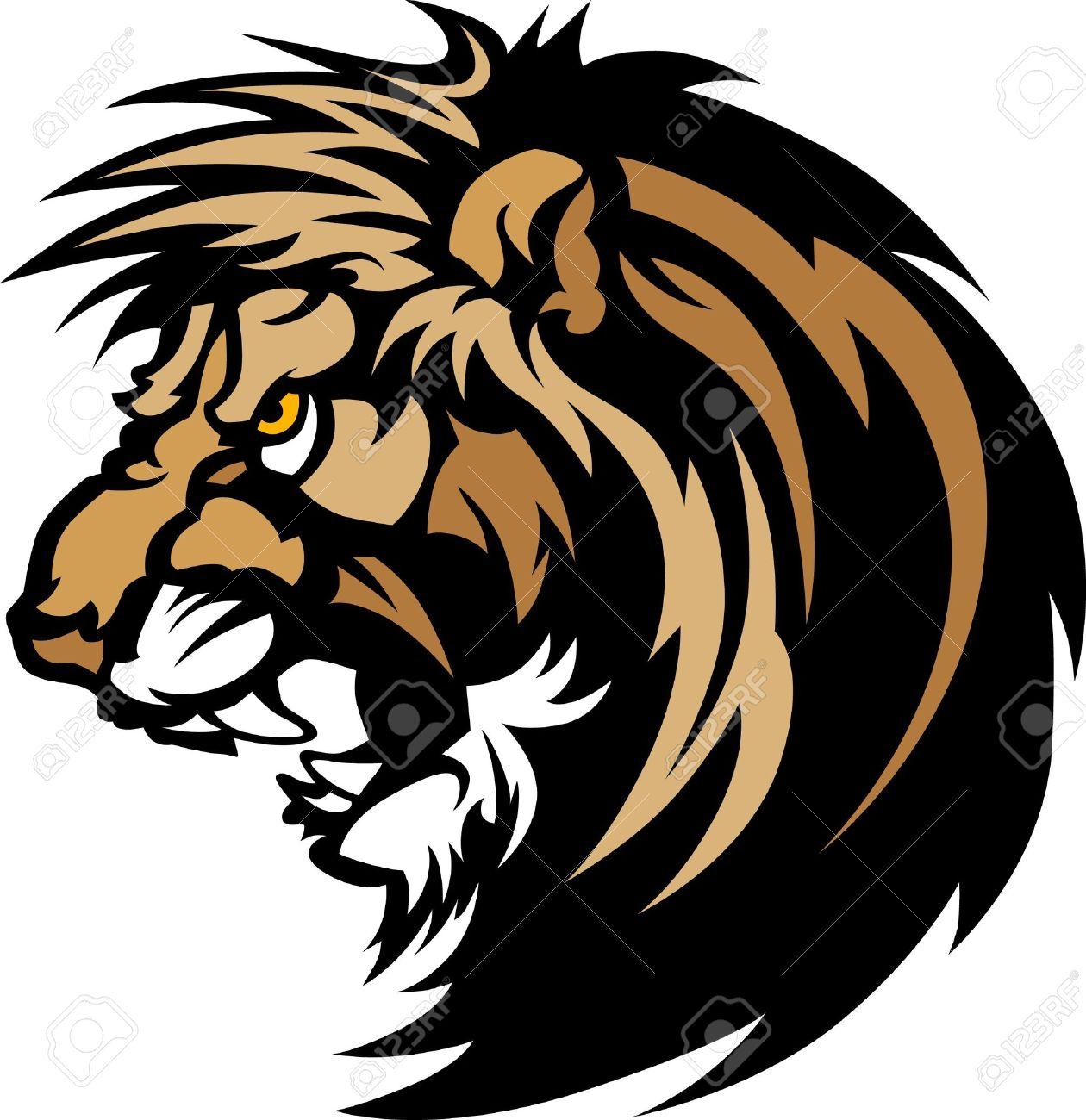 1260x1300 Lion Head Graphic Mascot Logo Royalty Free Cliparts, Vectors,
