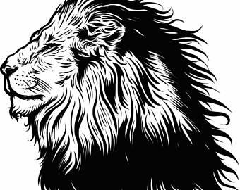 340x270 Lion Head Logo Etsy