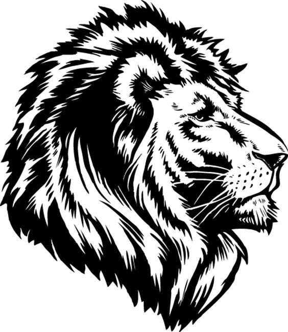 564x650 Logos On Lion Logo, Logo Design And Negative Space