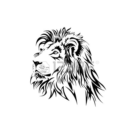 450x450 5,282 Lion Tattoo Stock Illustrations, Cliparts And Royalty Free