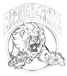 236x267 Roaring Lion Symbol
