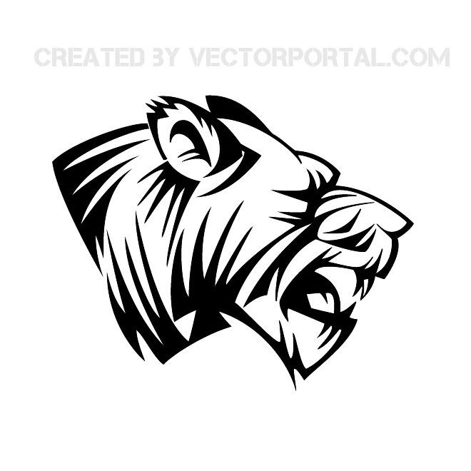 660x660 Lion Head Vector Clip Art 2