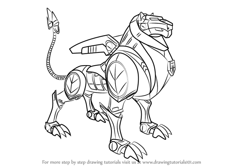 800x567 Learn How To Draw Black Lion From Voltron