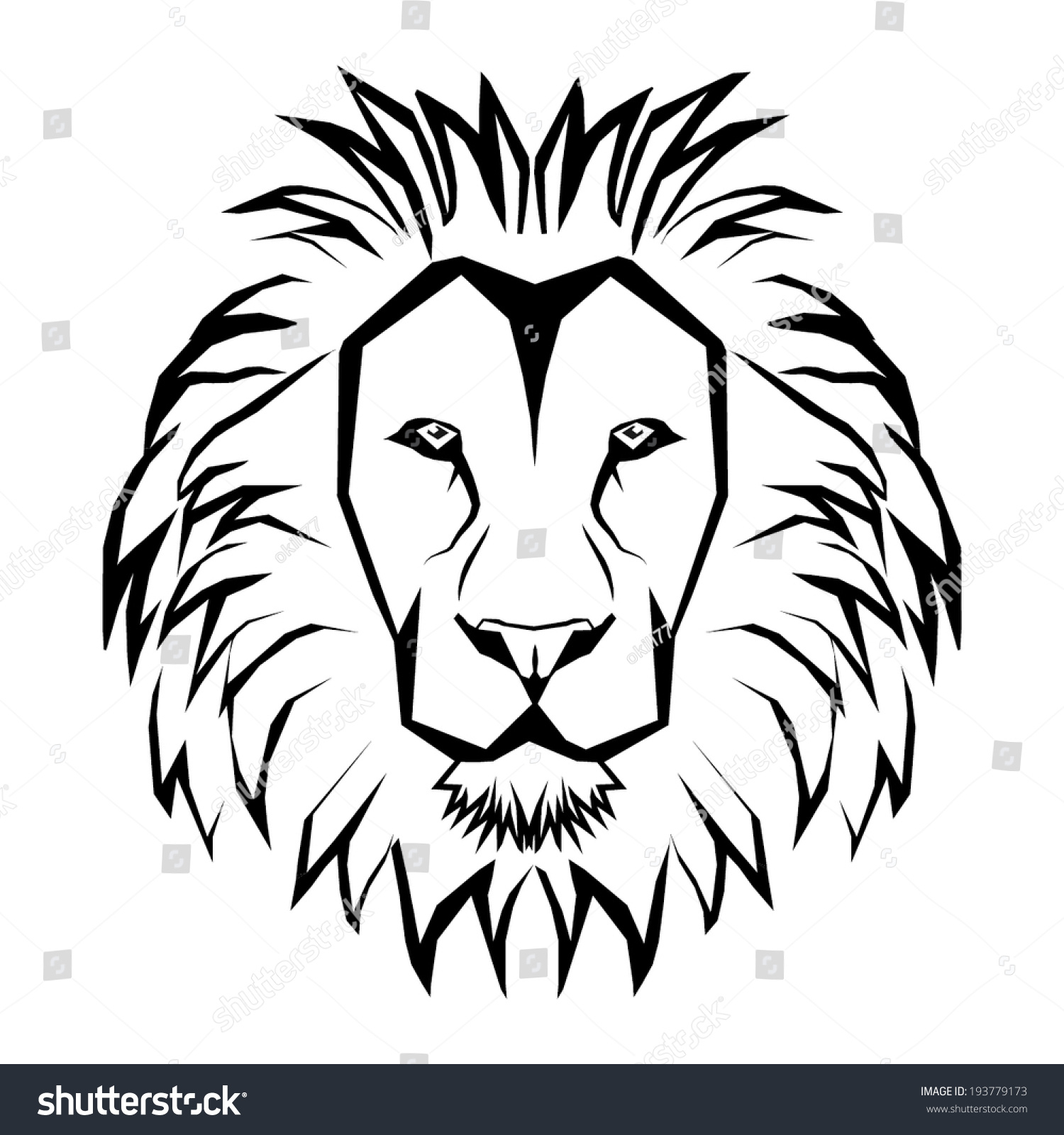 Lion Head Drawing Step By Step at GetDrawings com | Free for