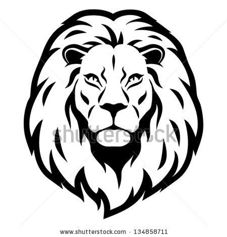450x470 Lion Head