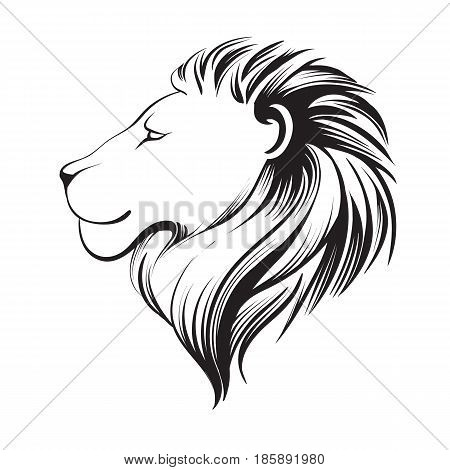 450x470 Isolated Lions Head Stylized Line Vector Amp Photo Bigstock