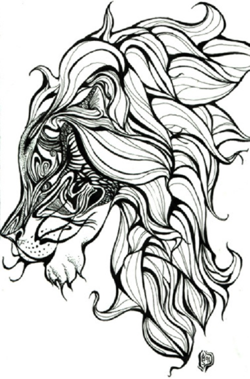500x758 100 Lion Tattoo Designs You Must See