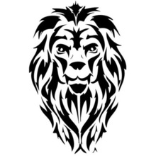 220x220 Buy Lion Head Tattoo And Get Free Shipping