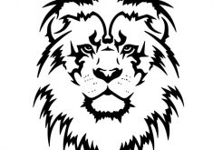 235x165 Download Lion Tattoo Black And White