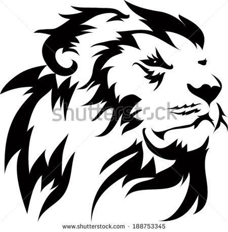 450x459 13 Best Small Lion Tattoo Outline Images On Tattoo