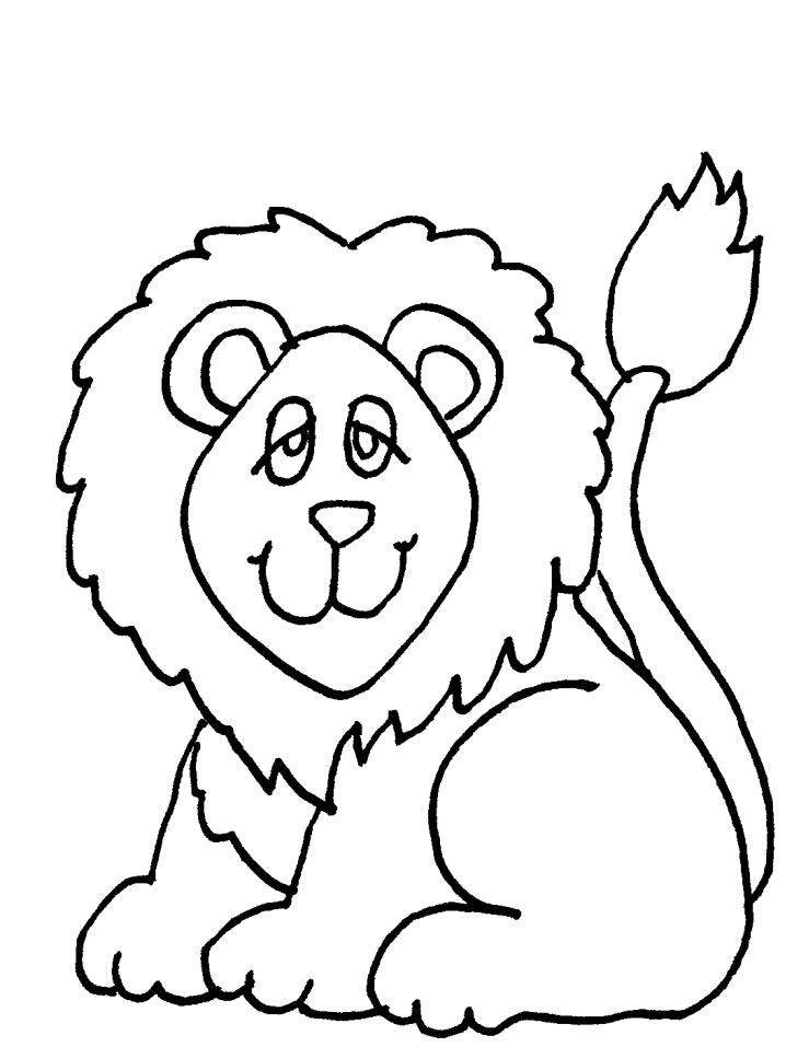 718x957 Impressive Coloring Pages Of Lions Kids Design