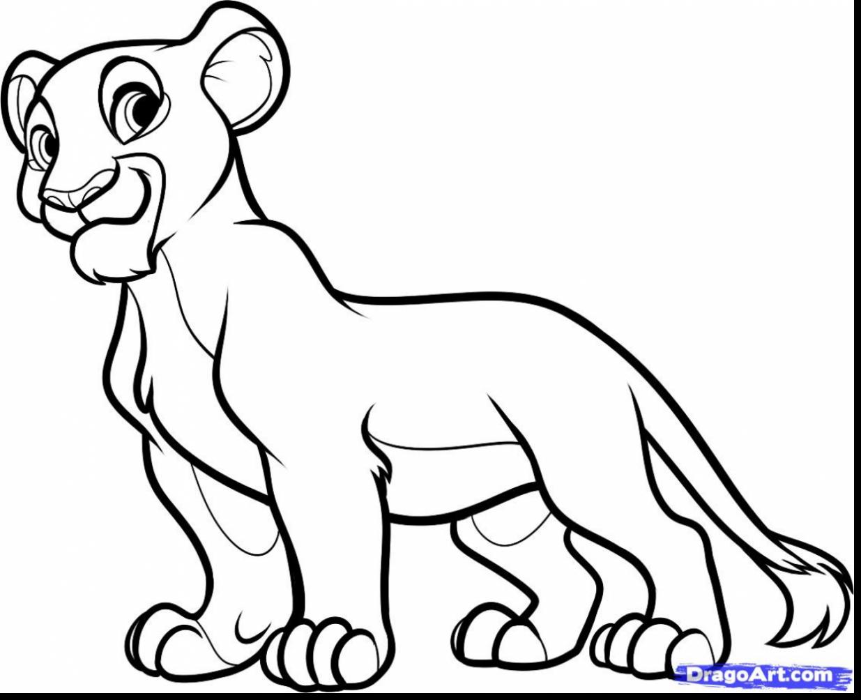 1235x1004 Best Free Lion King Scar Coloring Pages Design