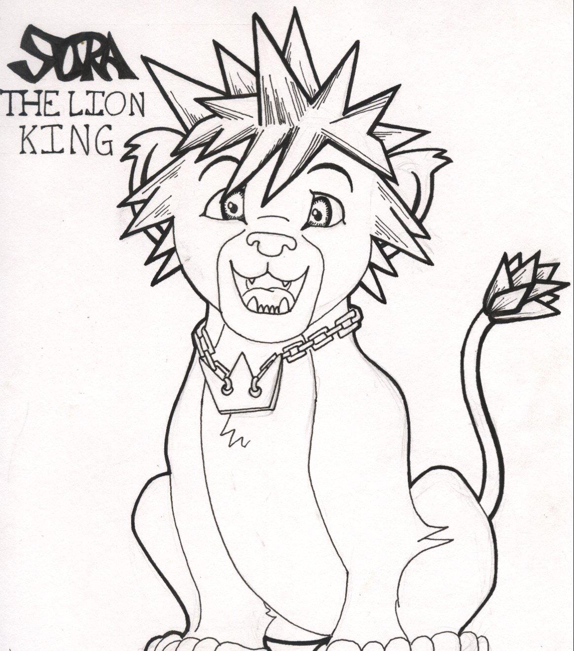 1164x1320 Sora, The Lion King By Myvoicesrloudest