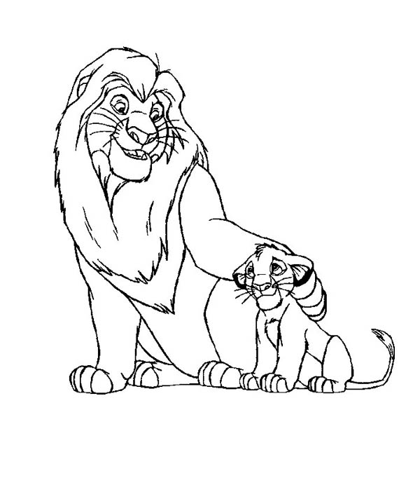 Lion King Drawing Simba At Getdrawings Com Free For Personal Use